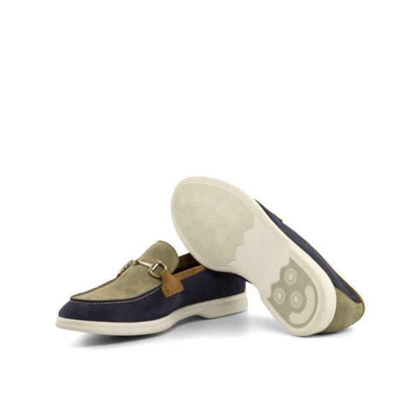 lightweight flexible rubber soles on unlined suede Loafers JAYE