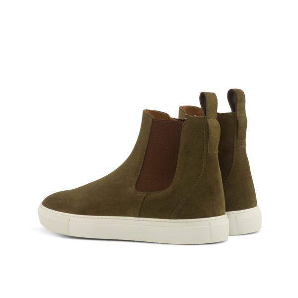 rear detail elastics on Chelsea Sneaker Boots LOUIS