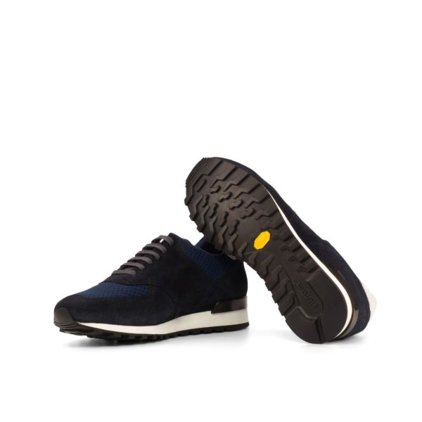 black comfortable vibram soles on retro Trainers OVETT