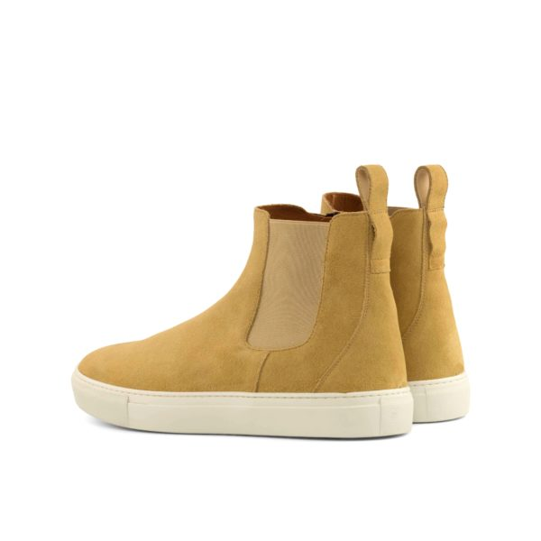 rear detail of casual suede Chelsea Sport Boots PERRY