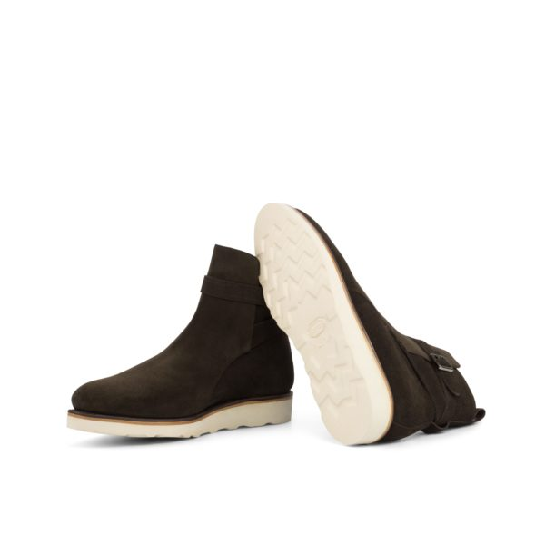 white goodyear welted rubber soles on Jodhpur Boots SIERRA