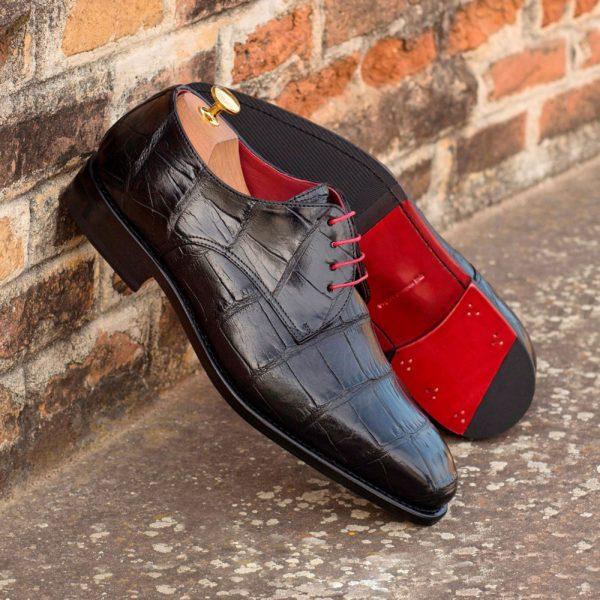 Alligator Derby Shoes WINSTON
