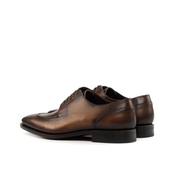 rear heel detail of Split Toe Derby Shoes CONGRESS