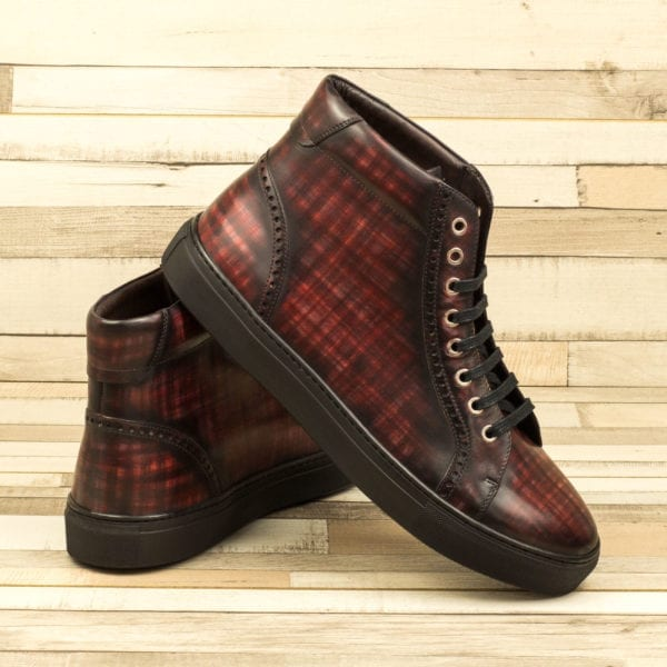 custom Patina Kicks Hi-Tops NICHOLL