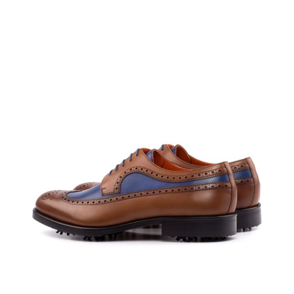 Leather Blucher Golf Shoes COUPLES