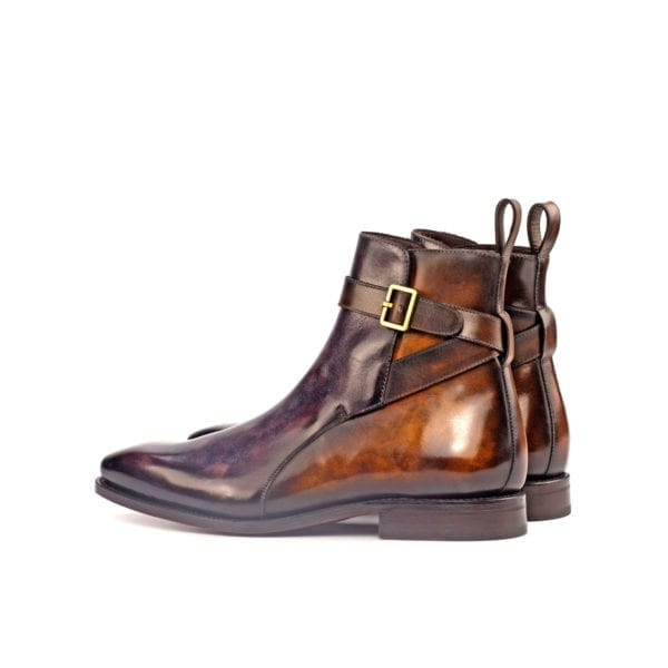 aubergine and brown Patina Jodhpur Boots KIPLING