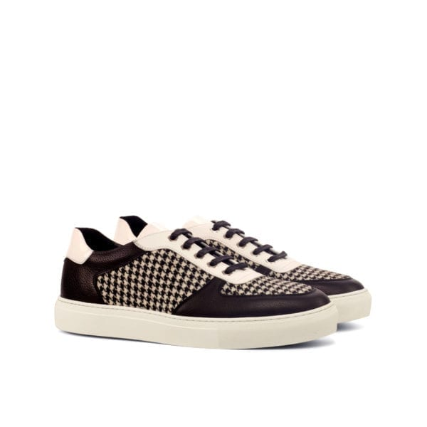 black and white Low-Tops trainers JIM