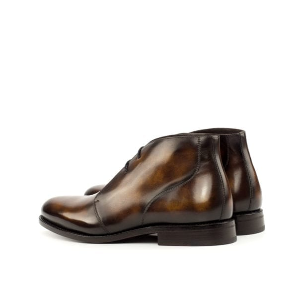 tobacco brown Patina Chukka Boots CARTER