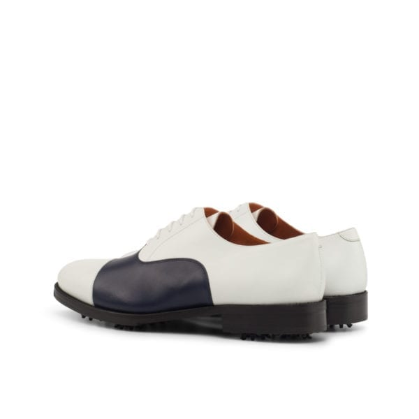 cap-toe Oxford Golf Shoes ROSE