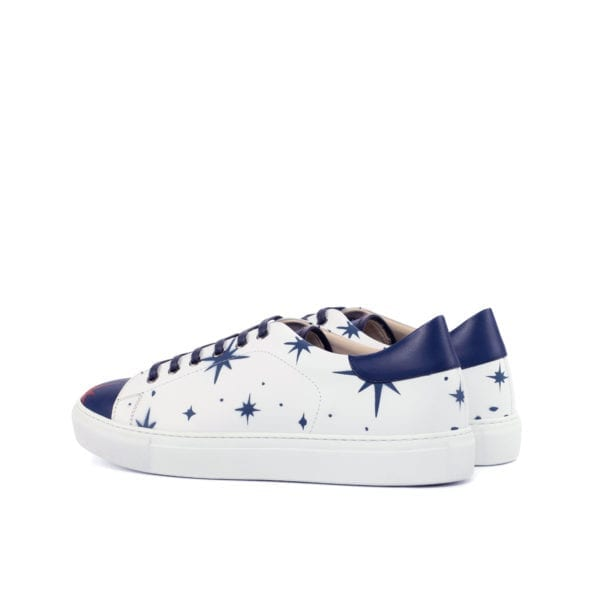 celestial pattern Stencil Art Trainers SPANGLED