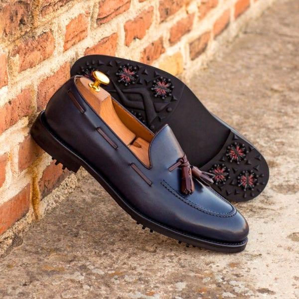 order custom made tassel Loafer Golf Shoes JOHNSON