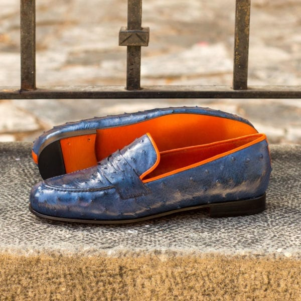 Ostrich Wellington Slippers Finney