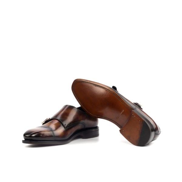 Patina Double Monk Shoes FALUCCI