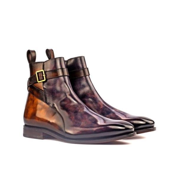 Patina Leather Jodhpur Boots KIPLING