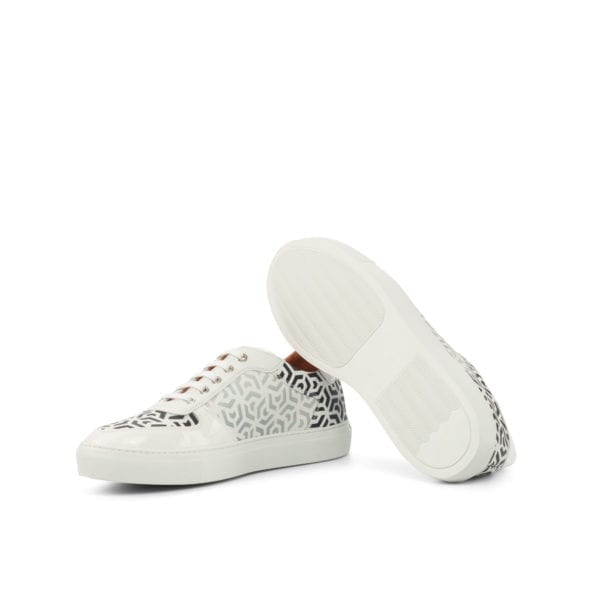 patterned Stencil Art trainers GEO