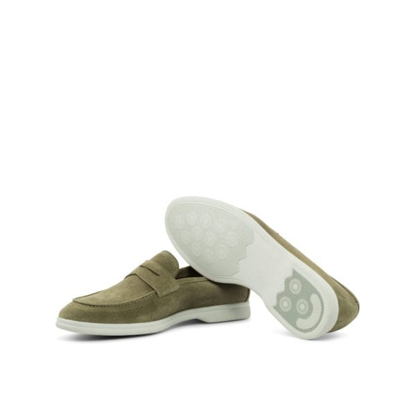 relaxed suede Loafers with rubber Sport Flex soles CALLUM