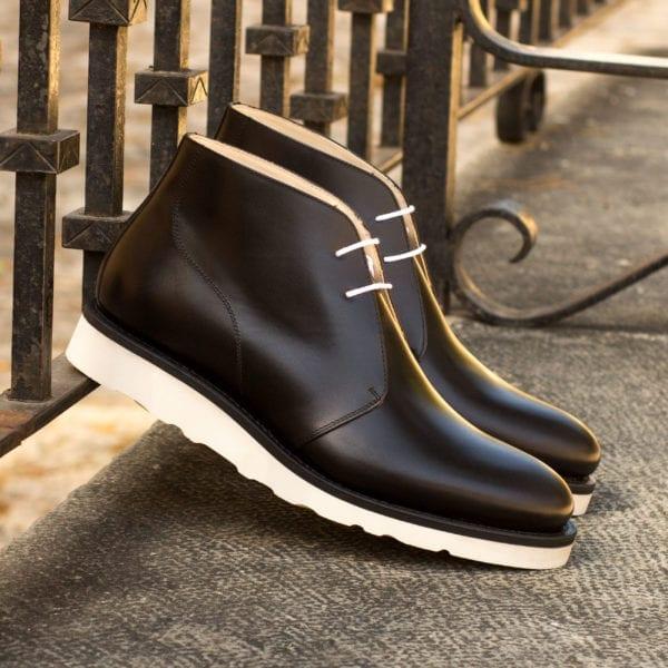 order custom made chunky sole Chukka Boots RAMSDEN