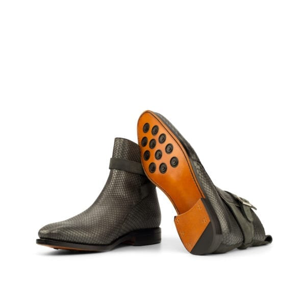 men's grey Python Boots SIMMONS