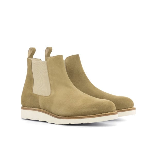 chunky Vibram rubber sole Chelsea Boots ELDRICK