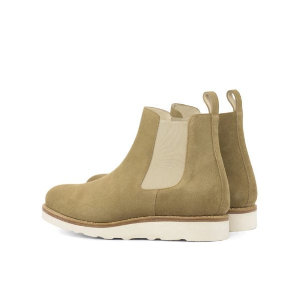 chunky casual suede Chelsea Boots ELDRICK