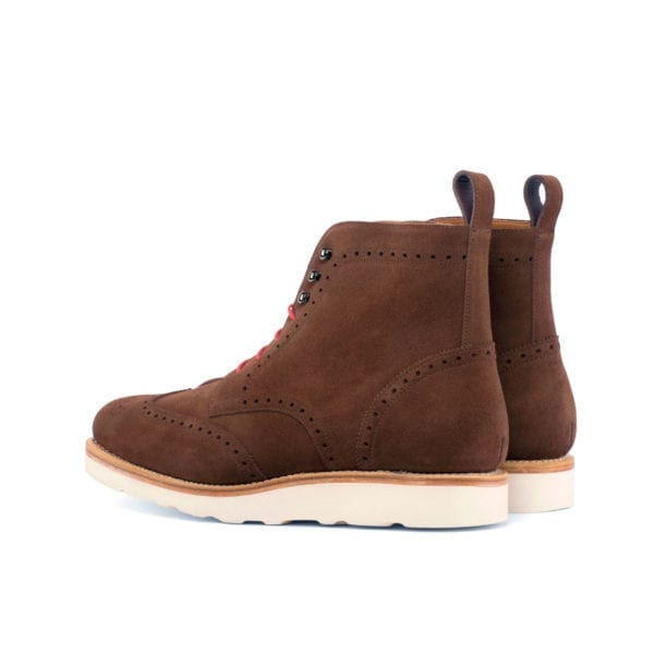 comfortable suede Brogue Boots with rubber soles SHIELD