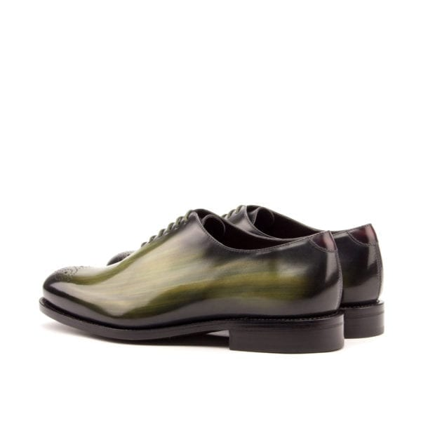 green Patina WholeCut Shoes for men SAPP