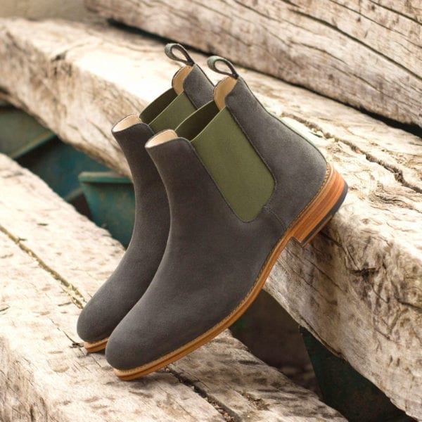 grey suede slip-on Boots LENNON