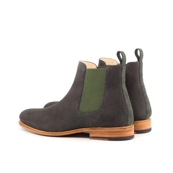 grey luxury suede Chelsea Boots for men LENNON
