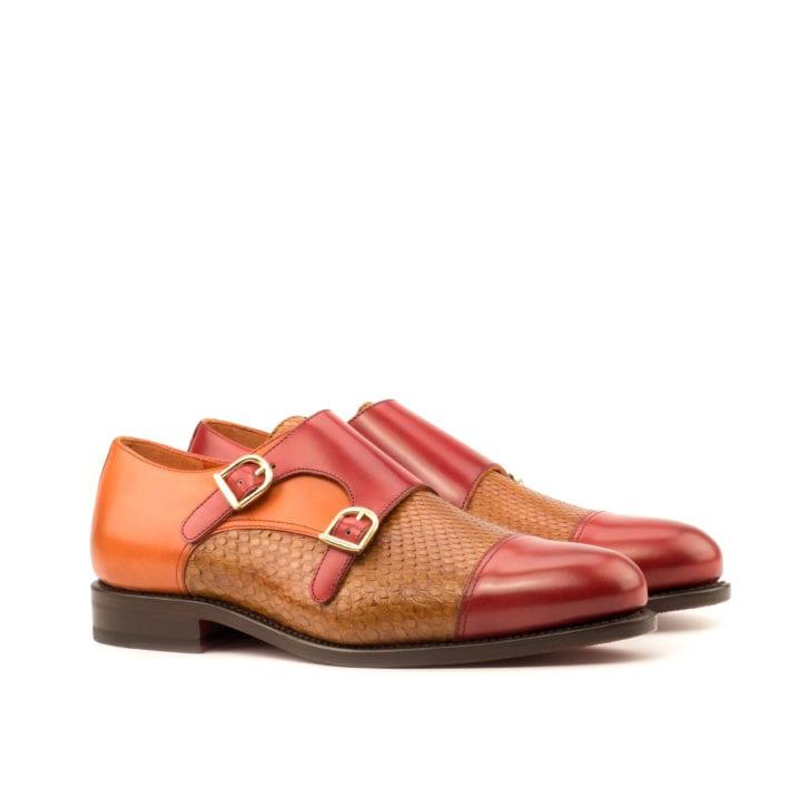 Python Double Monk Shoes HEAT