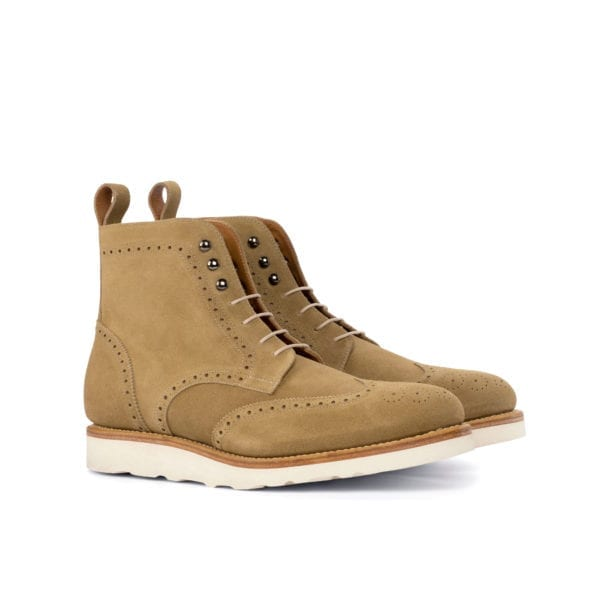 smart casual suede Brogue Boots ARMOUR